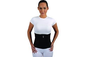(M, Black) - Armo Line Abdominal Binder Post Pregnancy Belly Wrap Postpartum Post-op Support (M, Black)