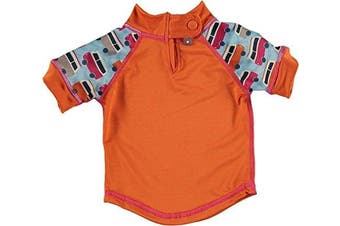 Pop In Rash vest (24 to 36 months, X-Large, Campervan Blue)