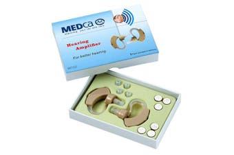 MEDca BTE Behind the Ear Hearing Amplifier - Pair