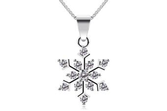 (style01) - B.Catcher Snowflake Neckalce with Tree Earring Studs