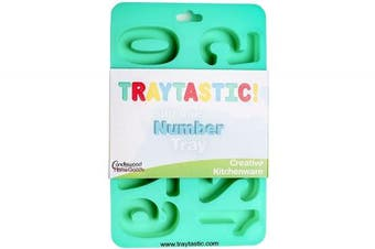 (Number Mould) - Silicone Number Trays Mould by Traytastic! - Large 4.4cm Tall Numbers
