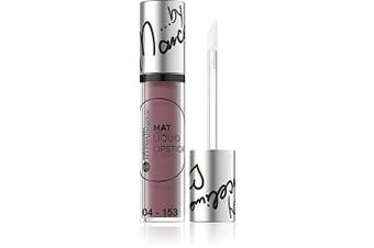 (04 - 153 SAN FRANCISCO) - 150 Bell HYPOAllergenic MAT Liquid Lipstick by Marcelina Most Trendy 10 Colours (04 - 153 SAN FRANCISCO)
