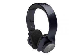 MEE audio EDM Universe On-Ear Headphones, Metallic Black