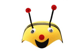 BESTOYARD Bee Hat Cartoon Animal Hat Cute Funny Children Kids Dress Up Accessories