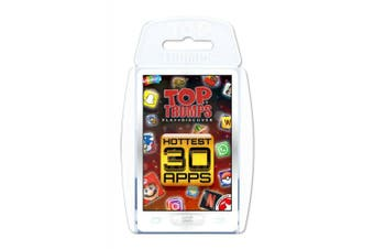 Hottest 30 Apps Top Trumps Card Game
