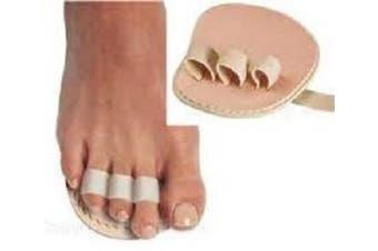 Triple Toe, HammerToe Straightener (Budin Toe Splint), LEFT Foot by Atlas Biomechanics