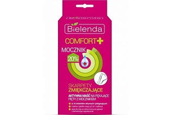 Bielenda Comfort Softening Socks Active Cream with Urea for Cracking Heel 2x6ml