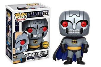 Funko Pop Vinyl Batman The Animated Series Robot Batman Chase Variant Figure