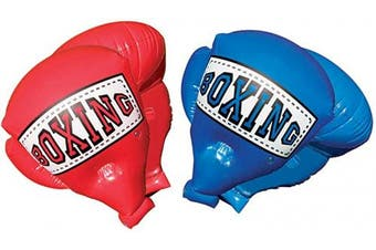 Banzai 48263 Garden Toy Giant Inflatable Boxing Gloves for Children (Red)