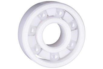 (12 Bearings) - 608 Full Ceramic ZrO2 Zirconium Oxide 8x22x7 Ball Bearings-12 Bearings