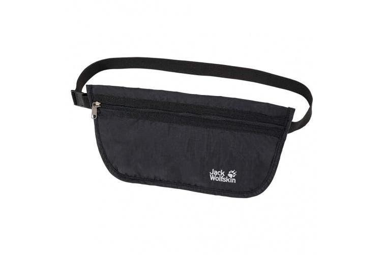 Jack Wolfskin Document Belt Waist Bag Black Black Size:one Size