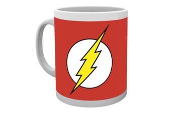 (Standard) - DC Comics The Flash Logo Mug, Multi-Colour