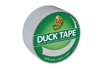 Duck Brand Colour Duct Tape, 4.8cm x 20 yards, Dove Grey