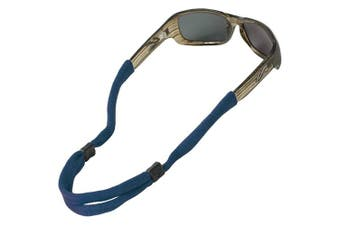 (1 Pack, Navy) - Chums No Tail Adjustable Eyewear Retainer
