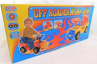Push Along Ride On Children Toy Walker Off Roader With Under Seat Storage
