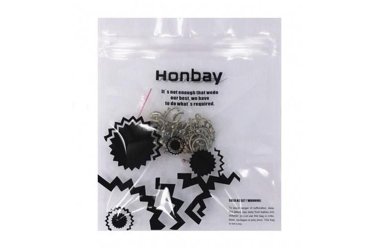 (Bronze) - Honbay 20pcs Fake Septum Clicker Nose Ring Rhinestone Non Piercing Hanger Clip Body Jewellery (Bronze)