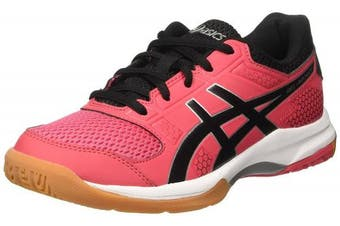 (6 UK, Red (Rouge Red/Black/White 1990)) - ASICS Women's Gel-Rocket 8 Volleyball Shoes
