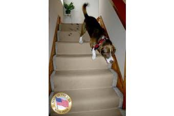(4.6m L 80cm  W, Beige) - Non-Slip Carpet & Floor Protector 4.6m L x 80cm W Beige