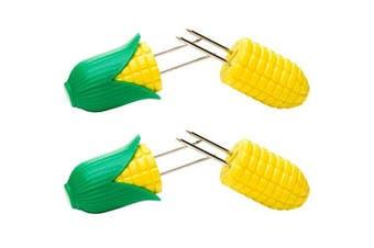 """Homiez """"Pixxi"""" Corn On Cob Holder, Multi-Colour, 4-Piece"""