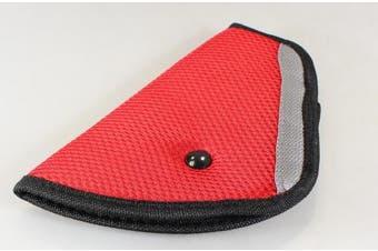 YRD TECH Children Baby Kids Car Safety Cover Strap Adjuster Pad Harness Children Seat Belt Clip (B)