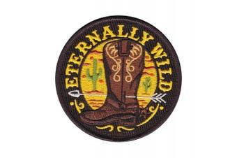 (Eternally Wild) - Asilda Store Embroidered Sew or Iron-on Patch (Eternally Wild)