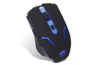 Powercool Usb Gaming Mouse With Blue Led Illumination 1.5m Braided Cable