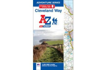 Cleveland Way Adventure Atlas (Adventure Series)