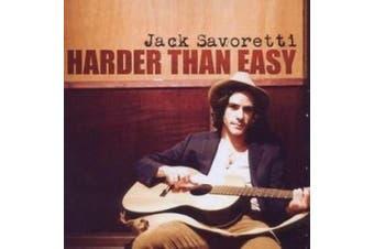 Jack Savoretti: Harder Than Easy: (cd)