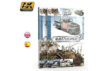 AK Interactive Extreme (Squared) Weathered Vehicles Reality - AK503 - Book