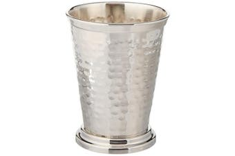 (12 oz Nickel Julep Cup) - Hammered Mint Julep Cup - Nickel Plated - 350ml