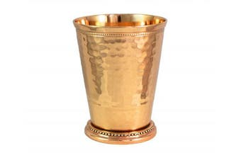 (12 oz Copper Julep Cup) - Hammered Copper Moscow Mule Mint Julep Cup