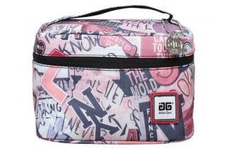 (Pink) - AfterGen Anti-Bully Lunch Bag (Skater) - Pink