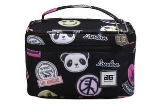 (Black/ Bear) - AfterGen Anti-Bully Lunch Bag (Dream Big)