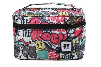 (Pink/Black) - AfterGen Anti-Bully Lunch Bag (Graffiti Love)