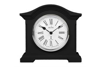 Acctim Black Quartz Battery Radio Controlled Mantle Mantel Clock - Chesterfield 77163