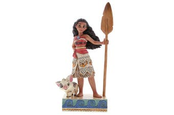 (Find Your Own Way Moana) - Disney Traditions Find Your Own Way Moana Figurine, Multi-Colour