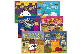 Indestructibles Classic Nursery Rhymes (Set of 6)
