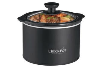 (Black) - Crock-Pot SCR151 1.4l Round Manual Slow Cooker, Black