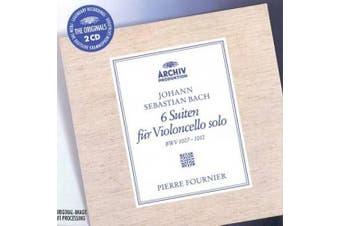 Bach: 6 Cello Suites BWV 1007, 1008, 1009, 1010, 1011 & 1012  [2 Discs]