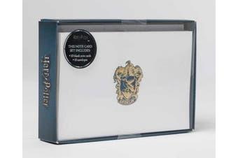 Harry Potter: Ravenclaw Crest Foil Note Cards: Set of 10