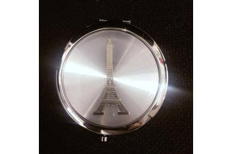 12 X make up Eiffel Tower Mirror Compact Favours Paris Sweet Sixteen Wedding Event party gift/ bridal shower/ office gift