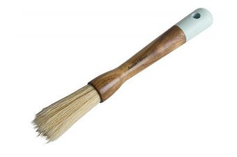 Jamie Oliver Pastry Brush, Wooden Handle with Hook and Natural Bristles, Round