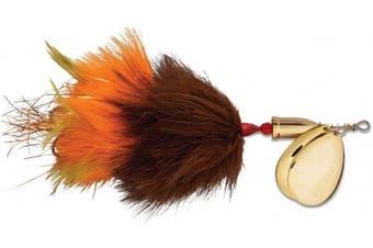 (20cm , Burn Orange) - Blue Fox Vibrax Super Bou TW 8 Fishing Lure