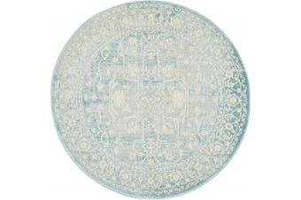 (4 x 4 round, Multicolor) - Unique Loom 3133029 Area Rug, 4 x 4 round, Multicolor