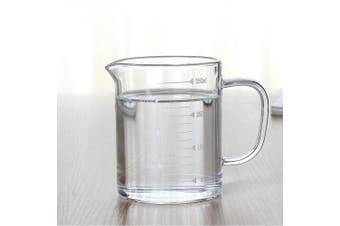 (350ml) - Borosilicate Glass Measuring Cup with Spout 350ml