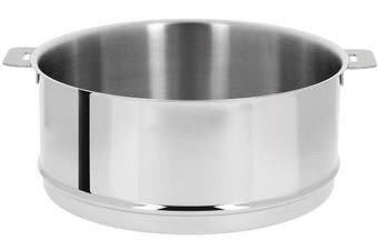 (0.9l) - Cristel ECV14Q Steamer, 0.9l, Silver