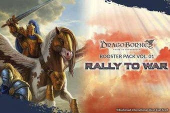 Dragoborne Rise to Supremacy: Rally To War Booster Display Box