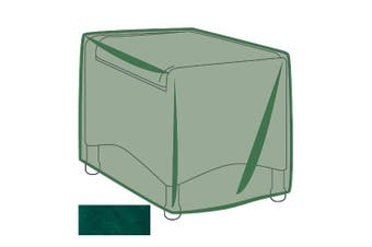 Outdoor Furniture All-Weather Cover for Ottoman, in Green