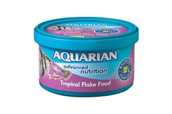 (13 grams, 1) - Aquarian Tropical Flake Fish Food - 13 g
