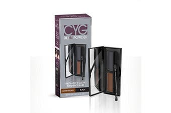 (Dark Brown/Black) - Cover Your Grey Cyg Fill In Powder Pro, Dark Brown/Black